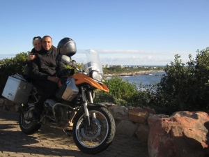 David & Louise in South Africa, July 2011