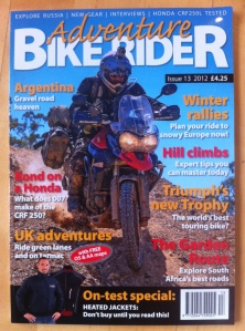 Issue 13 Adventure Bike Rider